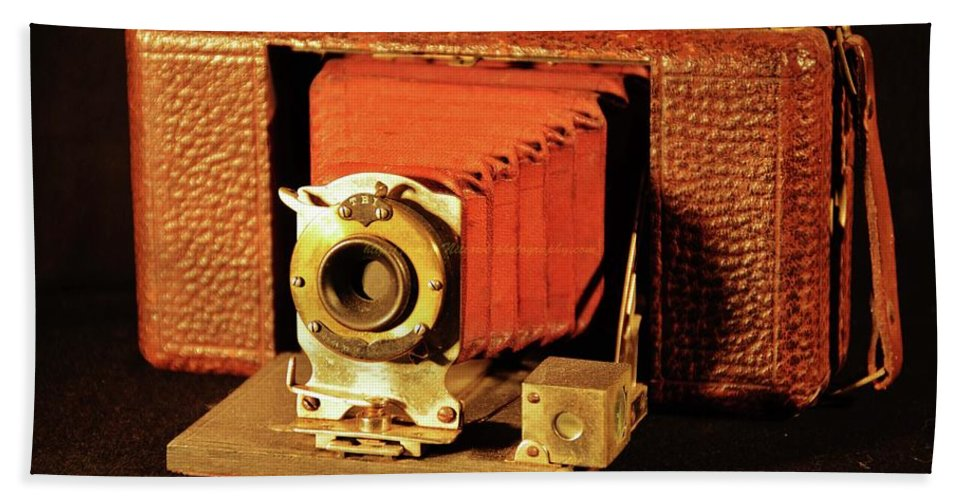 Bath Sheet featuring the photograph Camera by Kenneth Greathouse