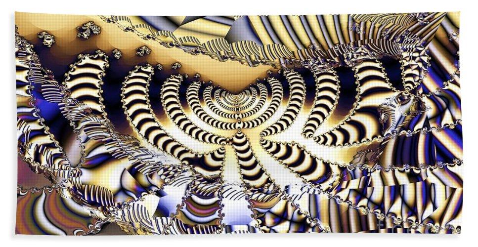 Catwalk Bath Sheet featuring the digital art Catwalk by Ron Bissett