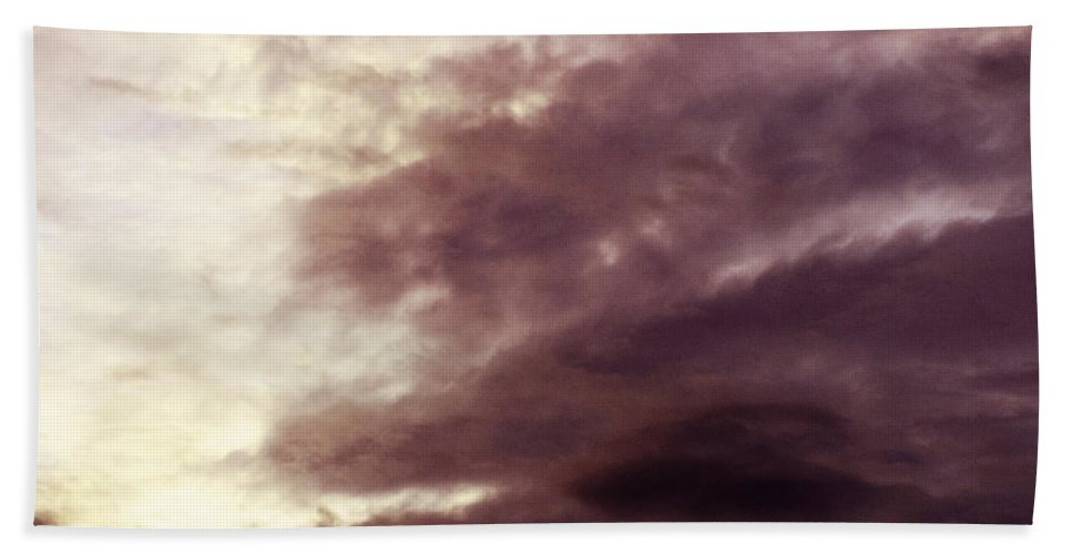 Clay Bath Towel featuring the photograph Clouds by Clayton Bruster