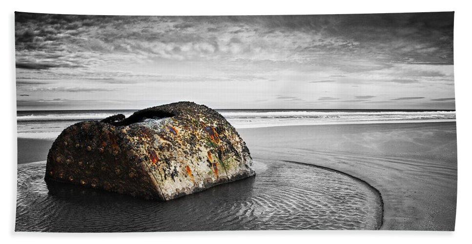Bay Hand Towel featuring the photograph Coastal Scene by Svetlana Sewell