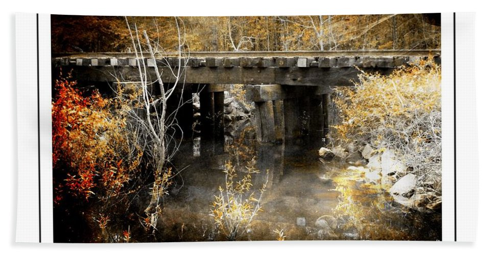 Bridge Hand Towel featuring the photograph Conway, South Carolina by Cindi Soutter