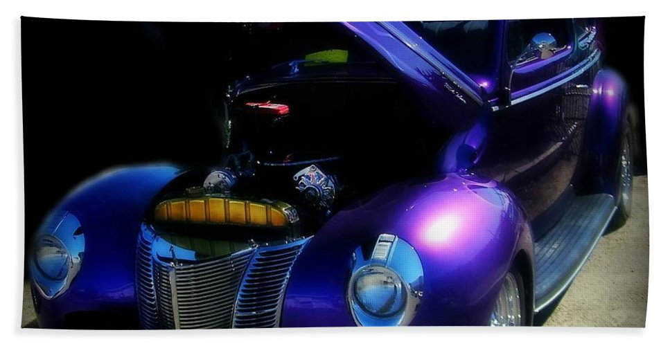 Hot Rod Hand Towel featuring the photograph Cool 1 by Bobbee Rickard