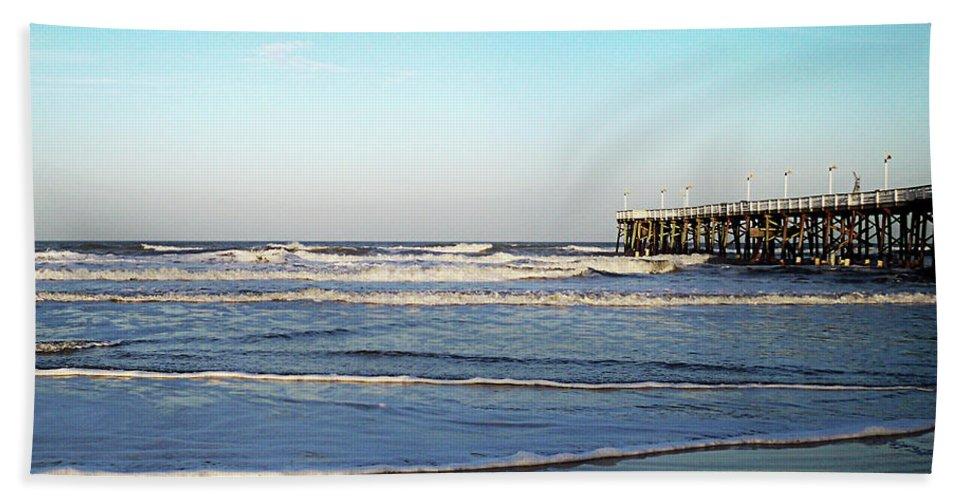Florida Bath Sheet featuring the photograph Daytona Dawn II Gp by Chris Andruskiewicz
