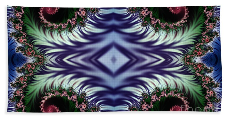 Clay Bath Sheet featuring the digital art Diamonds Are Forever by Clayton Bruster