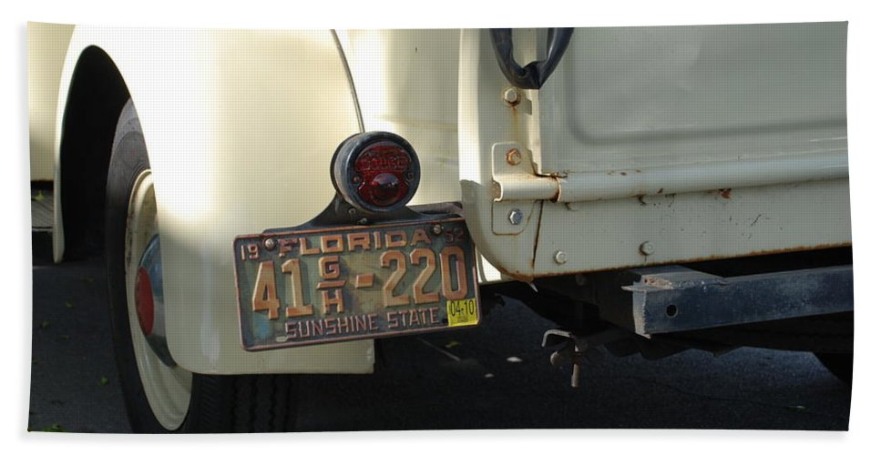 Truck Hand Towel featuring the photograph Dodge by Rob Hans