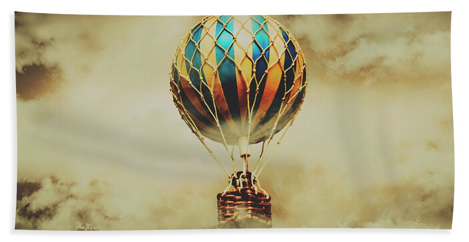 Vintage Bath Towel featuring the photograph Fantasy Flights by Jorgo Photography - Wall Art Gallery