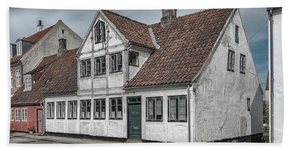Denmark Bath Sheet featuring the photograph Helsingor Old Building by Antony McAulay