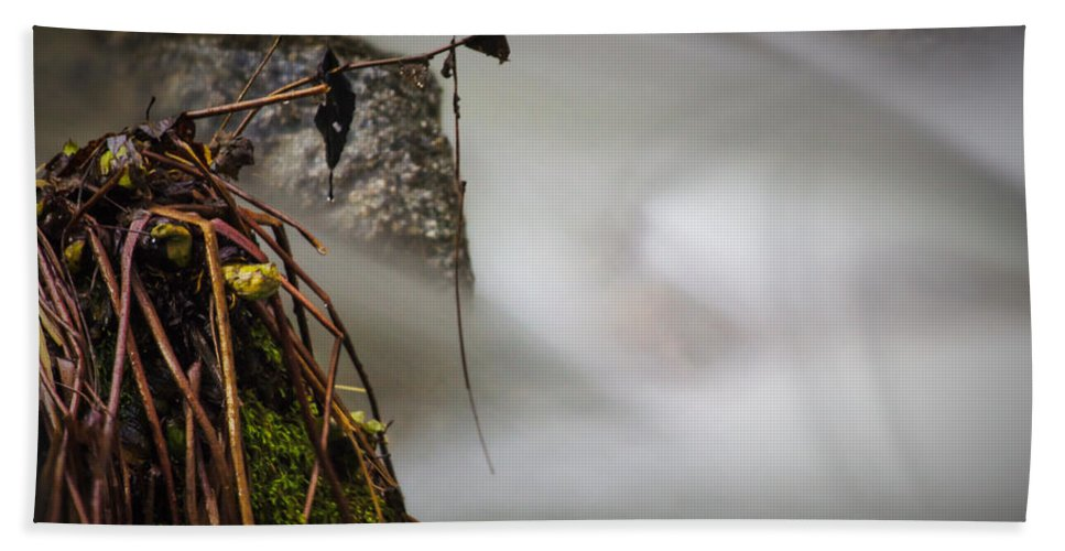 Brandy Hand Towel featuring the photograph Hung Up by Marnie Patchett
