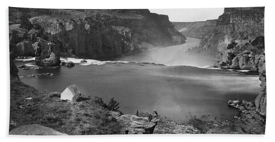 1868 Bath Sheet featuring the photograph Idaho: Snake River Canyon by Granger