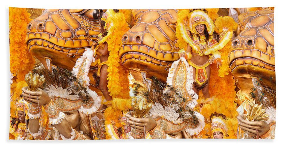 Brazil Bath Sheet featuring the photograph Lets Samba by Sebastian Musial