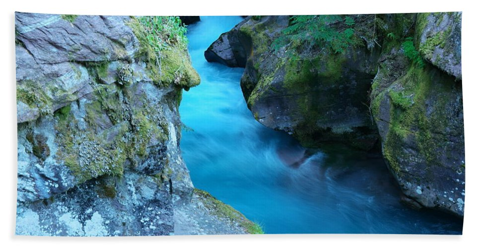 Water Bath Sheet featuring the photograph Meltwater by Jeff Swan