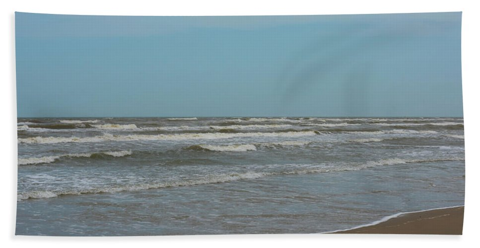 Sand Bath Sheet featuring the photograph Padre Island National Seashore by Kevin McCollum