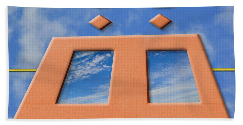 Parallel Universe Hand Towel featuring the photograph Parallel Universe by Paul Wear