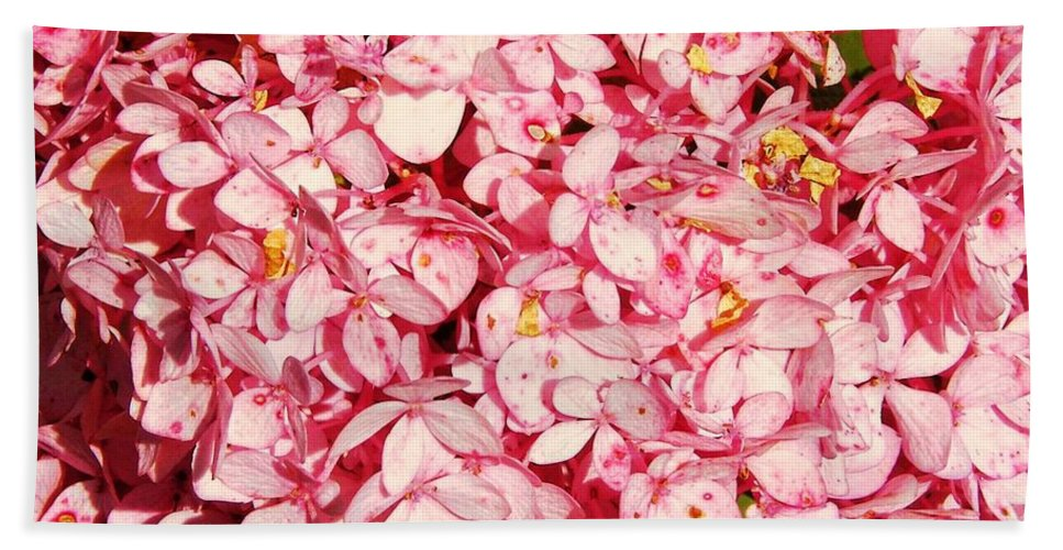 Flower Bath Sheet featuring the photograph Prettiest Pink by JAMART Photography