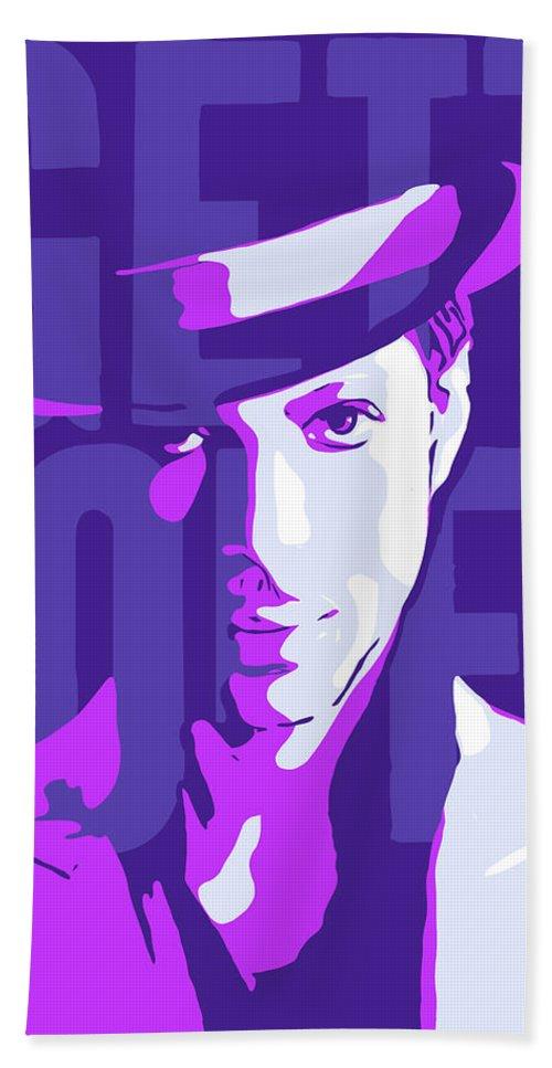 Prince Bath Sheet featuring the digital art Prince by Greatom London