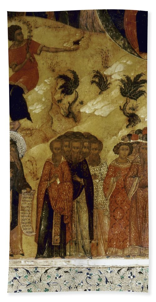 16th Century Hand Towel featuring the photograph Russia: Icon by Granger