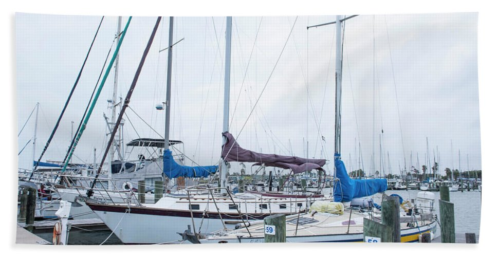 Sailing Bath Sheet featuring the photograph Sailing by Kevin McCollum