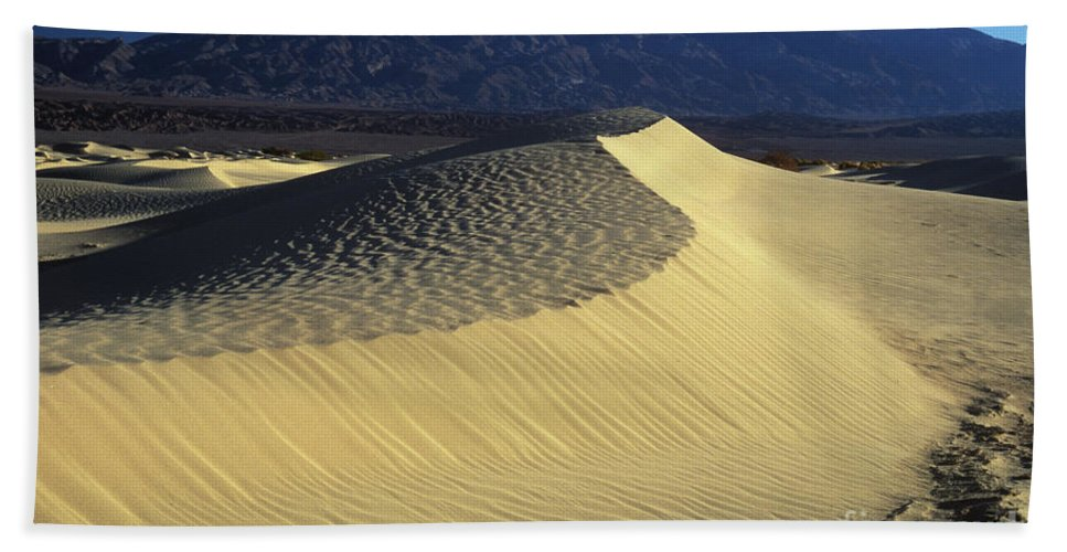 Sand Bath Sheet featuring the photograph Sand Dunes by Jim And Emily Bush