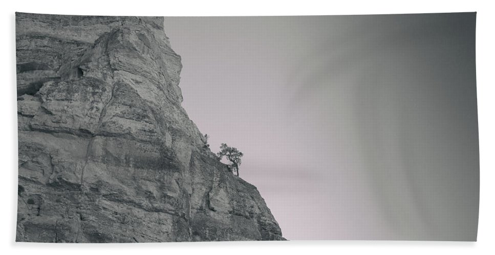 Grand Canyon National Park Bath Towel featuring the photograph Solitude by Kunal Mehra