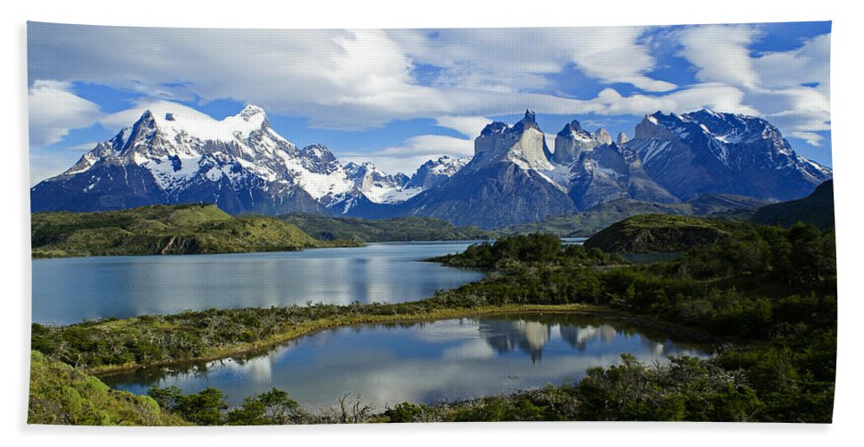 Patagonia Hand Towel featuring the photograph Springtime In Patagonia by Michele Burgess