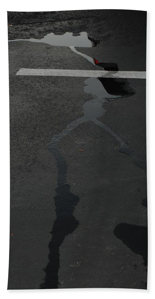 Water Hand Towel featuring the photograph Streams In The Lot by Rob Hans