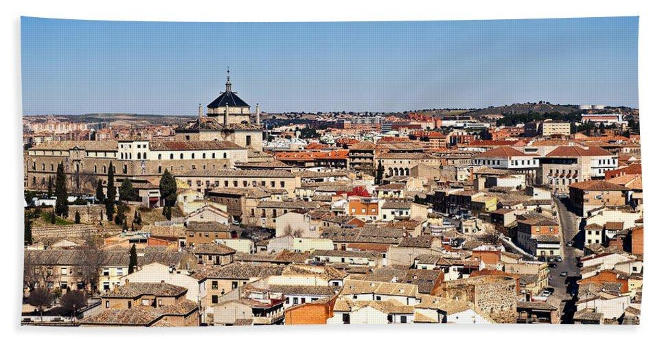 Spain Bath Sheet featuring the photograph Toledo Spain by John Greim