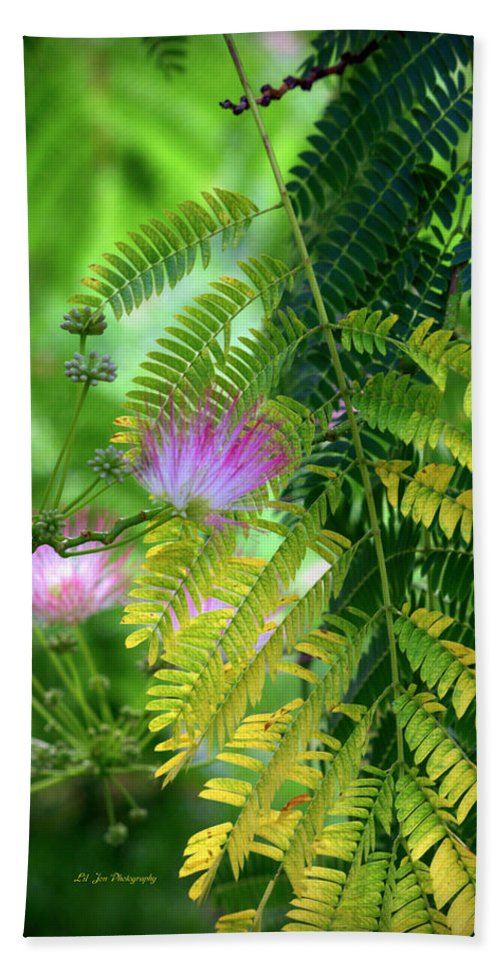 Tropical Bath Sheet featuring the photograph Tropical Eden by Jeanette C Landstrom