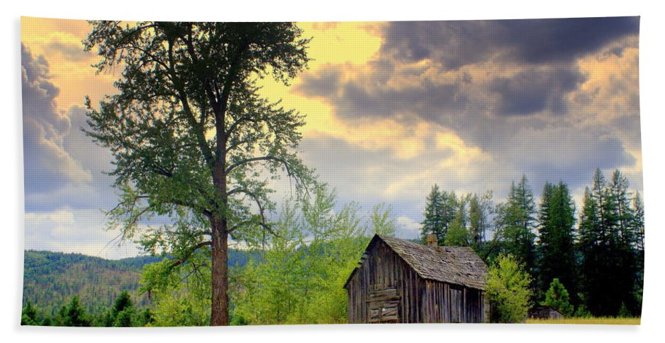 Washington Hand Towel featuring the photograph Washington Homestead by Marty Koch