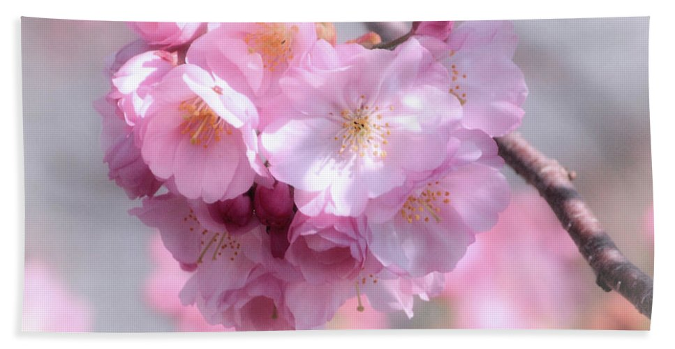 Cherry Blossoms Hand Towel featuring the photograph Wedding Flowers by Luv Photography