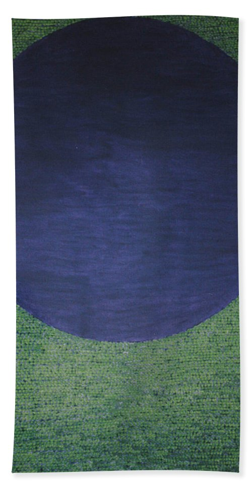 Inspirational Hand Towel featuring the painting Perfect Existence by Kyung Hee Hogg