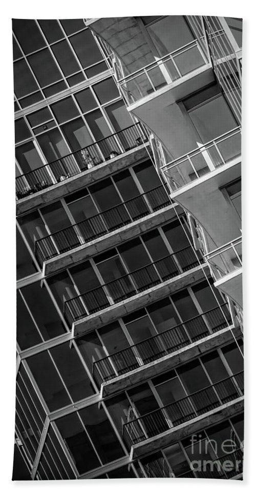 1010 Peachtree Bath Sheet featuring the photograph 1010 Peachtree by Doug Sturgess