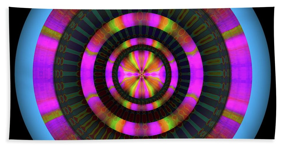 Art Hand Towel featuring the digital art 101520179 by Visual Artist Frank Bonilla
