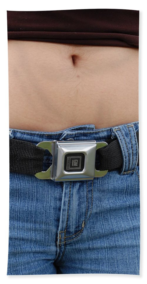Body Hand Towel featuring the photograph The G M Belt by Rob Hans
