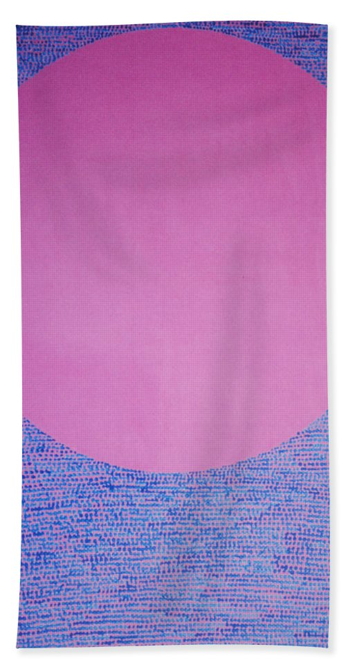 Inspirational Bath Towel featuring the painting Perfect Existence by Kyung Hee Hogg