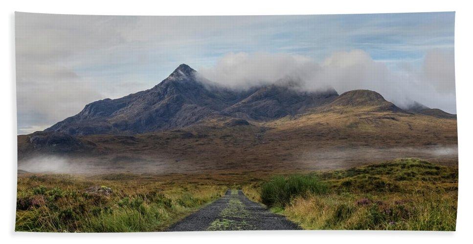 Sligachan Bath Towel featuring the photograph Sligachan - Isle Of Skye by Joana Kruse