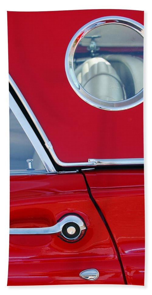 Classic Car Hand Towel featuring the photograph 1957 Ford Thunderbird by Jill Reger