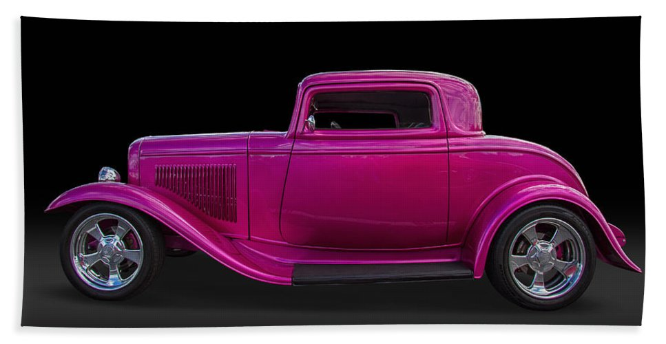 1932 Hand Towel featuring the photograph 1932 Ford Hot Rod by Nick Gray