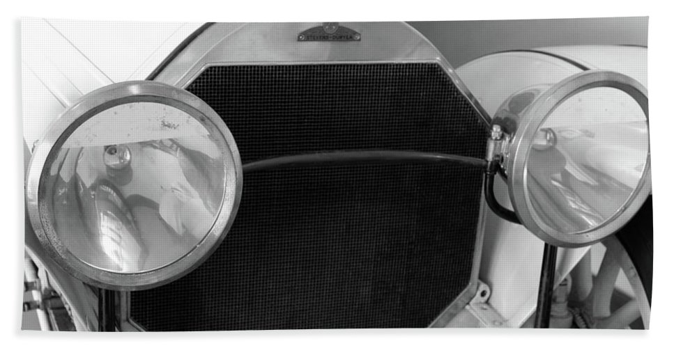 Automobile Bath Sheet featuring the photograph Automobile Of The Past by Stacey May