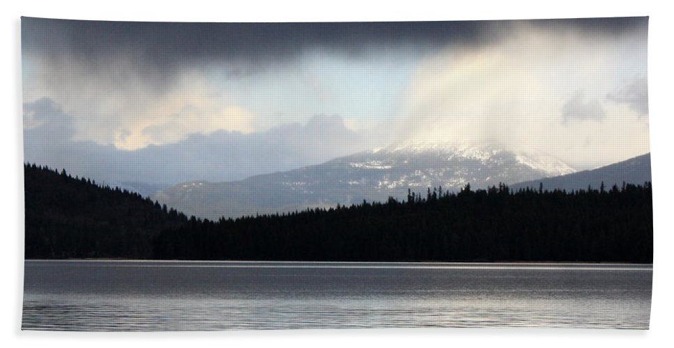 Clouds Hand Towel featuring the photograph Balance In Nature by Carol Groenen