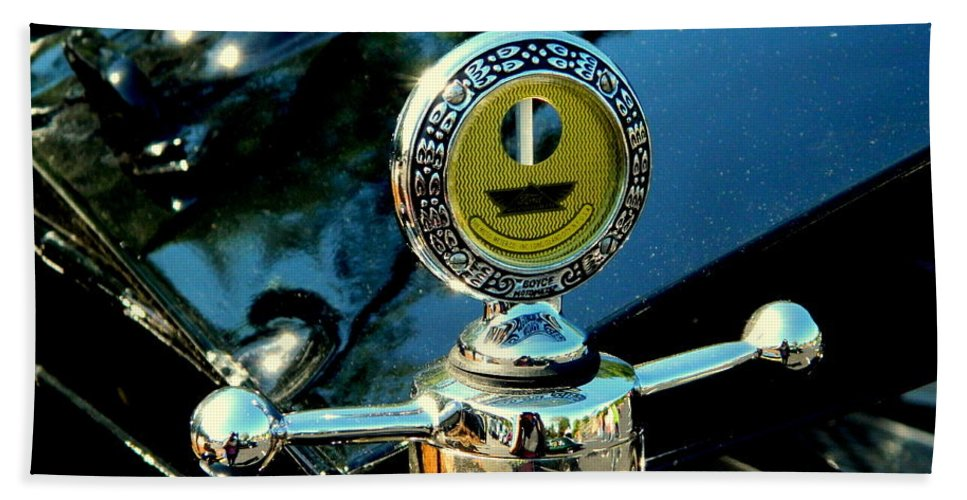 Car Show Hand Towel featuring the photograph Female View At A Car Show by Arlane Crump