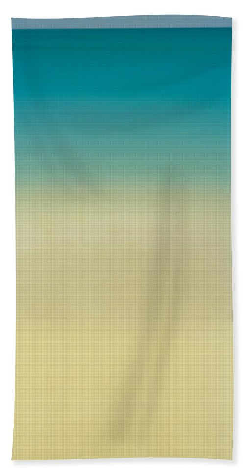 Photography Bath Sheet featuring the photograph High Angle View Of A Conch Shell by Panoramic Images
