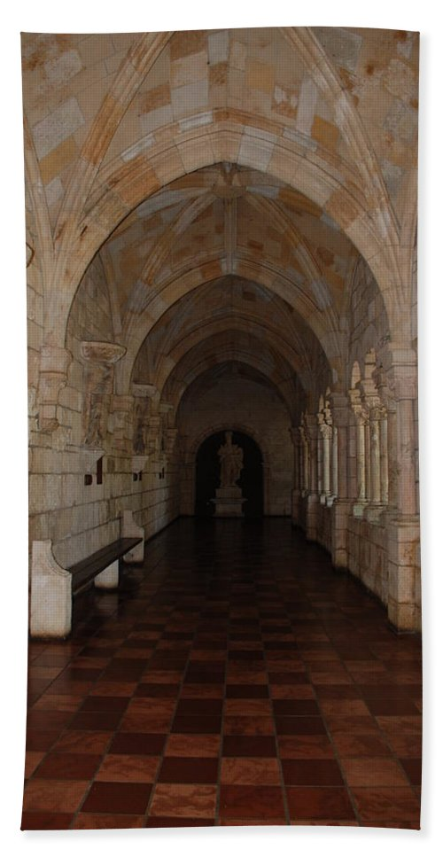 Architecture Bath Sheet featuring the photograph Miami Monastery by Rob Hans