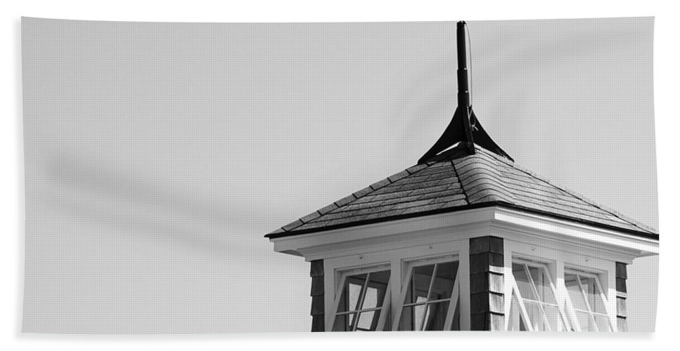 Nantucket Hand Towel featuring the photograph Nantucket Weather Vane by Charles Harden