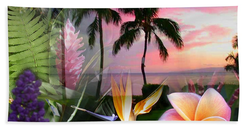 Bird Of Paradise Bath Sheet featuring the photograph Natural Beauty by Angie Hamlin