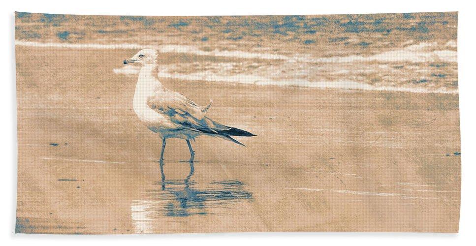 Ocean Bath Sheet featuring the photograph Ocean Breeze Walk by JAMART Photography