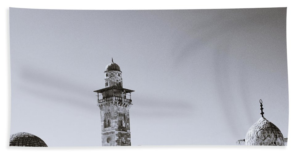 Cat Hand Towel featuring the photograph Old Jerusalem by Shaun Higson