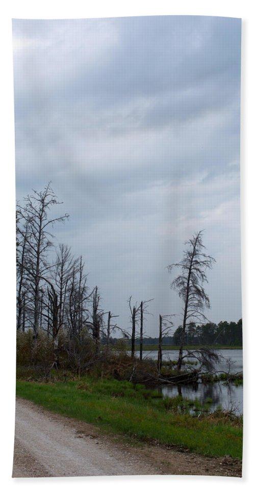 Nature Bath Sheet featuring the photograph Pond's Edge by Linda Kerkau