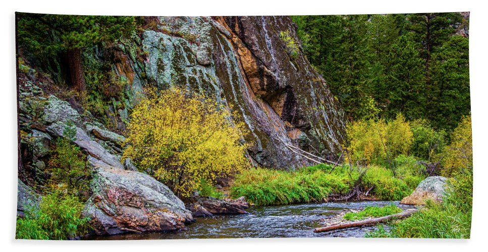 Jon Burch Hand Towel featuring the photograph River Of No Return by Jon Burch Photography