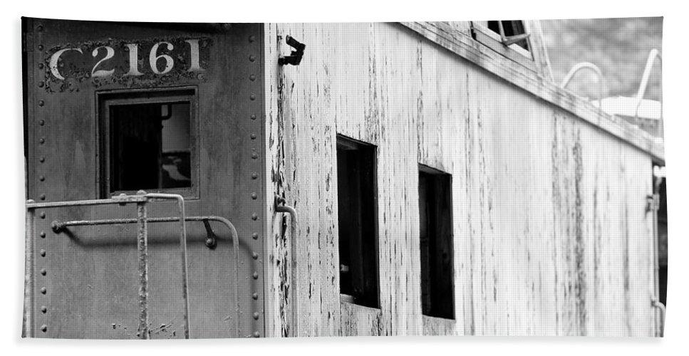 Train Bath Sheet featuring the photograph Train by Sebastian Musial