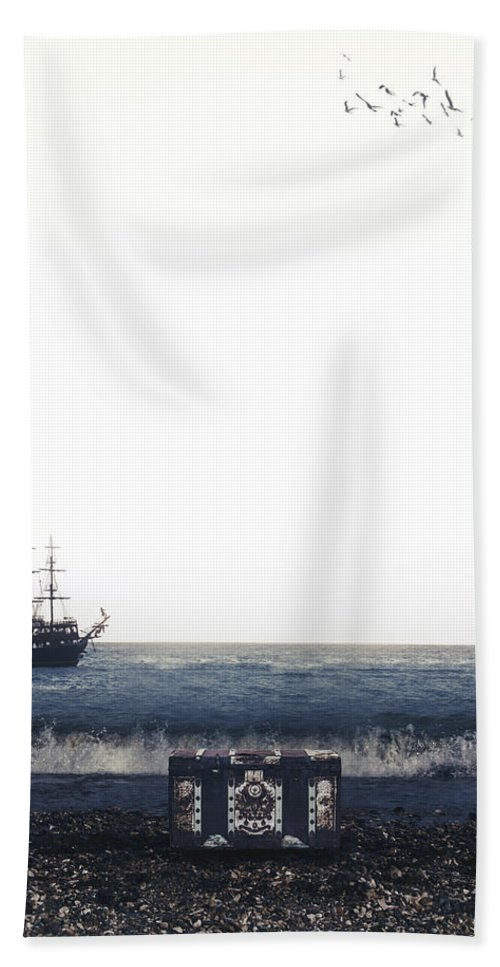 Treasure Hand Towel featuring the photograph Treasure Chest by Joana Kruse